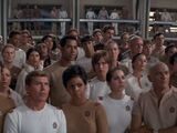 Personnel inconnu de l'USS Enterprise NCC-1701 de la division des sciences médicales