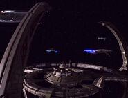 Federation-Bajoran ships at DS9-1