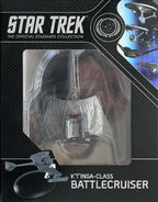 Star Trek Official Starships Collection K't'inga Class Battle Cruiser repack 6