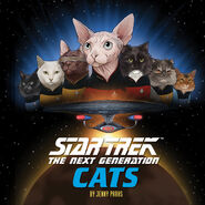 Star Trek TNG Cats cover