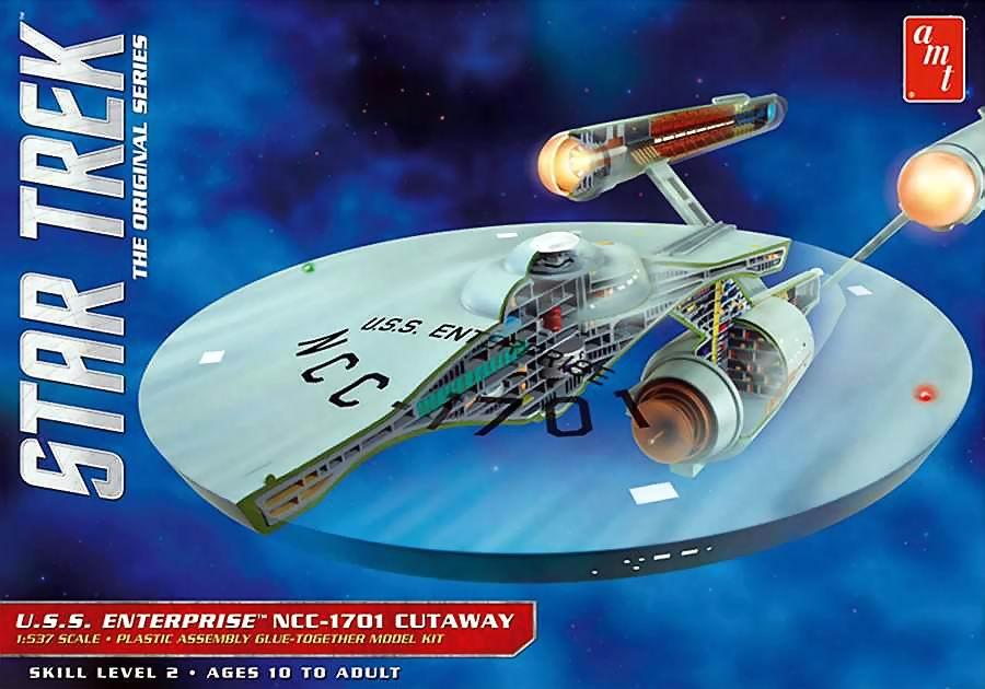 AMT Model kit AMT891 USS Enterprise Cutaway 2015.jpg
