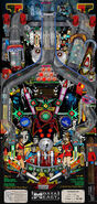 Data East Star Trek pinball playfield