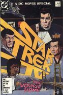 Star trek 4 comic