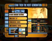 DVD-Menü TNG Staffel 6 Disc 2