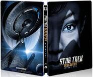 DIS Season 1 Blu ray steelbook cover
