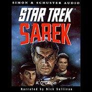 Sarek unabridged audiobook cover, digital edition