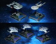 WizKids Star Trek Alliance - Dominion War Campaign starships