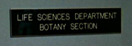 Botany section