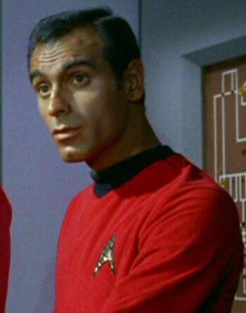...as Lieutenant Berkley