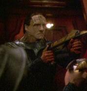 Cardassian at Dominion headquarters 7