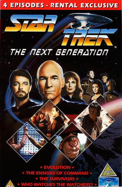 TNG Season 3 UK VHS