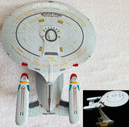 Playmates USS Enterprise-D Space Talk