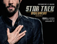 Star Trek Discovery Season 2 Spock banner 2