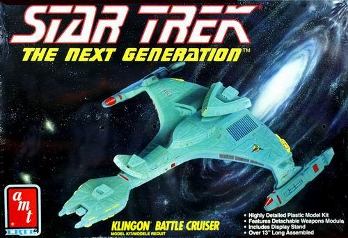 AMT Model kit 6812 Klingon Battle Cruiser 1992.jpg