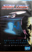 Gefahr aus dem 19. Jahrhundert (VHS Cover)