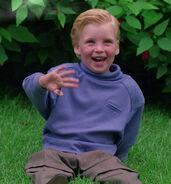 Jeremiah Rossa as child