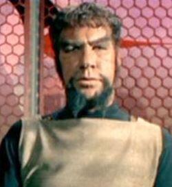 ...as a Klingon captain.