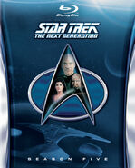TNG Season 5 Blu-ray cover