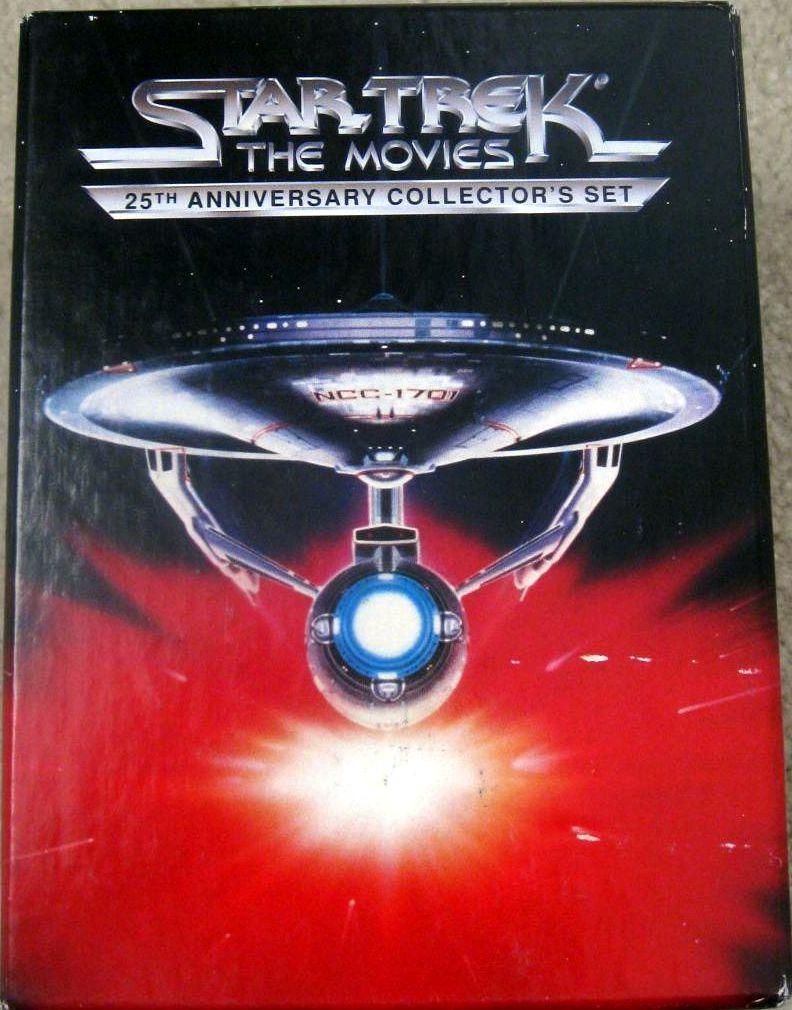 Star Trek: The Movies - 25th Anniversary Collectors Set