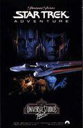 Star Trek Adventure 1988 Hollywood venue brochure cover