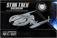Star Trek Discovery Official Starships Collection Issue 1 box