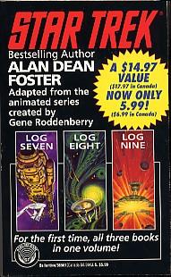 Star Trek Log Seven, Log Eight, Log Nine
