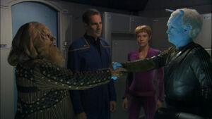 Gral and Shran call a truce.jpg