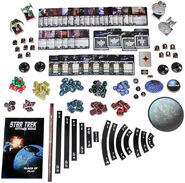 WizKids Star Trek Attack Wing Federation vs Klingon Starter Set contents