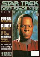 DS9 Poster Magazine issue 0 cover