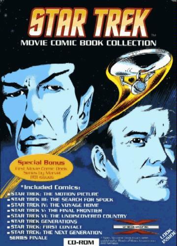 Star Trek: Movie Comic Book Collection
