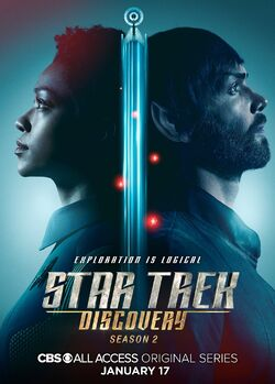 Star Trek Discovery Season 2 Michael Burnham and Spock poster.jpg