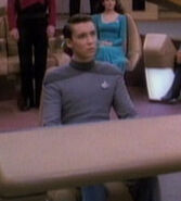 Wesley Crusher hologram