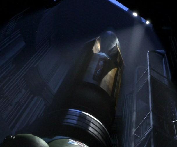Antimatter missile