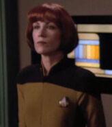Enterprise-D transporter chief, 2369