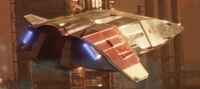 Federation Shuttle Aft 2385