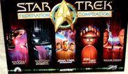 Star Trek Federation Compilation UK cover