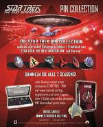 TNG Blu-ray German pin collection ad