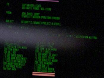 Fred Raimondi on a Starfleet Command order