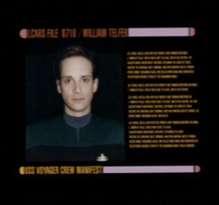 Telfer's personnel file