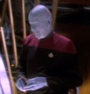 Bolian starfleet officer on ds9 in 2369