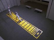 Enterprise-D fencing room, 2368