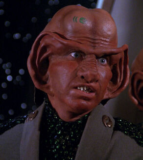 Goss, a Ferengi male in 2366