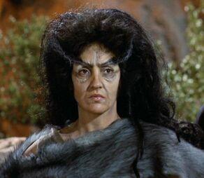 Zora, a female Tiburonian