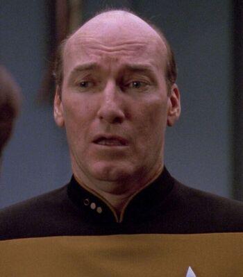 ...as Lt. Cmdr. Albert