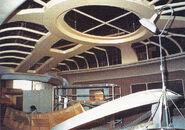 Enterprise-D bridge under construction