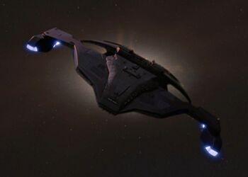 Sisko's attack ship