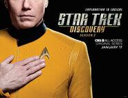 Star Trek Discovery Season 2 Christopher Pike banner 2