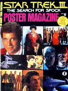 Star Trek III Poster Magazine cover