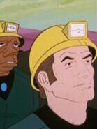Bergarbeiter im arkadischen Sternensystem 1