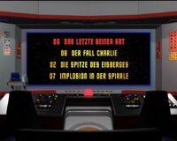 DVD-Menü TOS Staffel 1 Disc 1